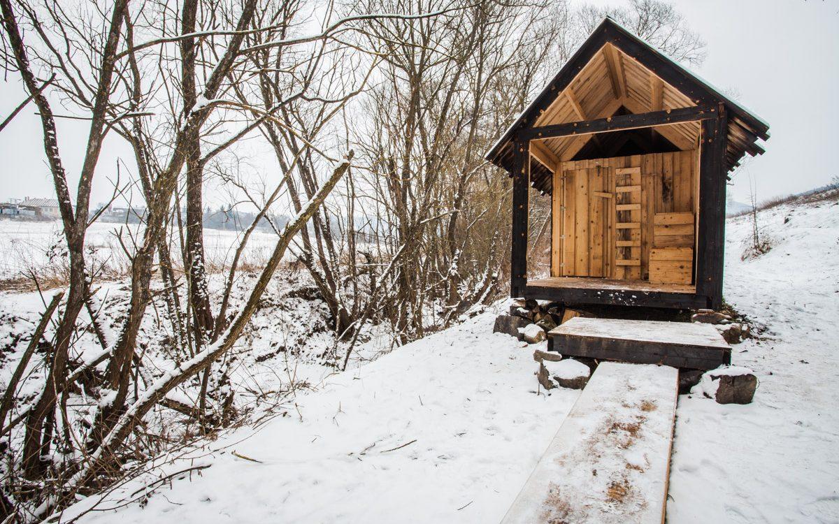 Vidiecka verejná sauna